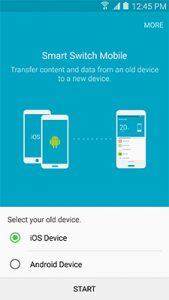 smart switch prebacivanje podataka