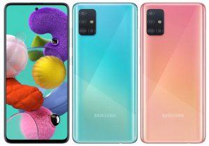 Samsung A51 kameraa